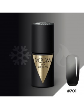 VOOM 701 UV Gel Polish Twisted Black